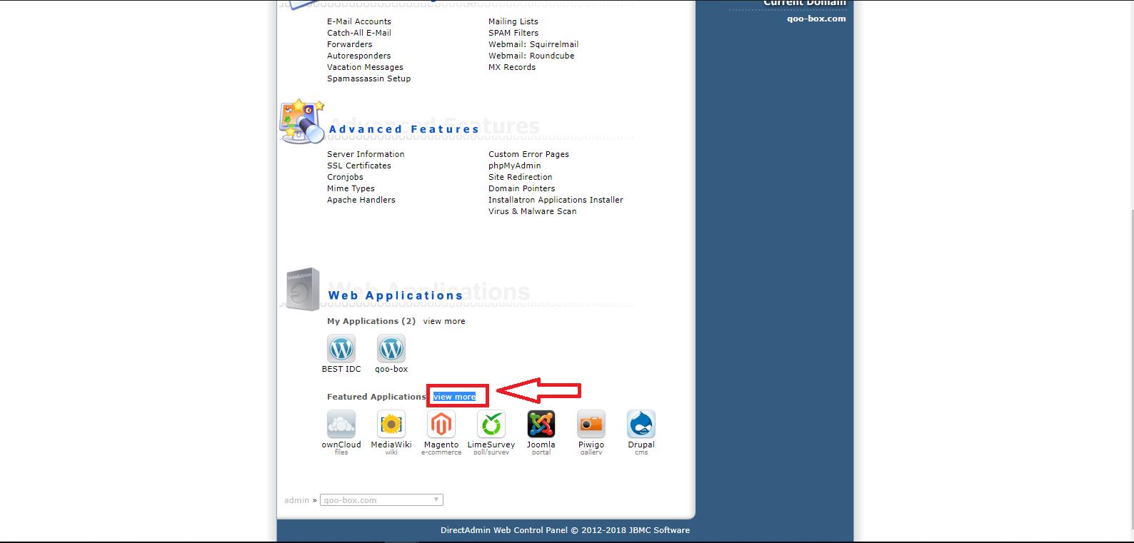installatron - install wordpress - วิธีติดตั้ง wordpress